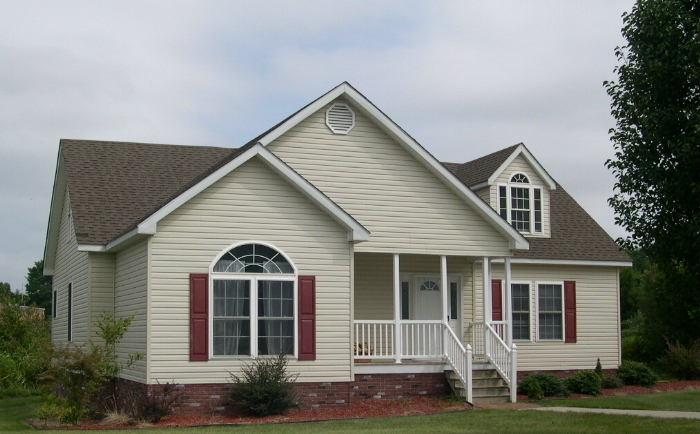Display model available ranch cape cod two story modular for Select home