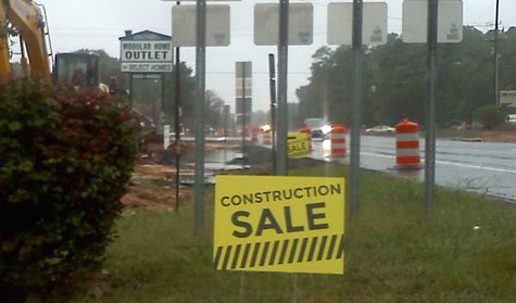 Select Homes Construction Sale