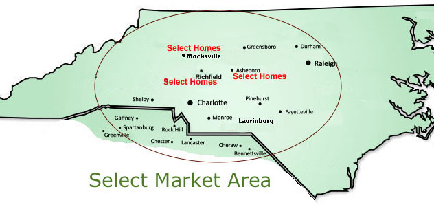 Find Select Homes near you