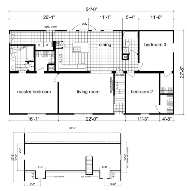 Modular home modular homes floor plans prices nc for Mobile home layouts and prices