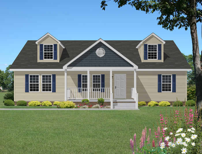 Mount vernon cape cod by select homes inc for Cape cod porch