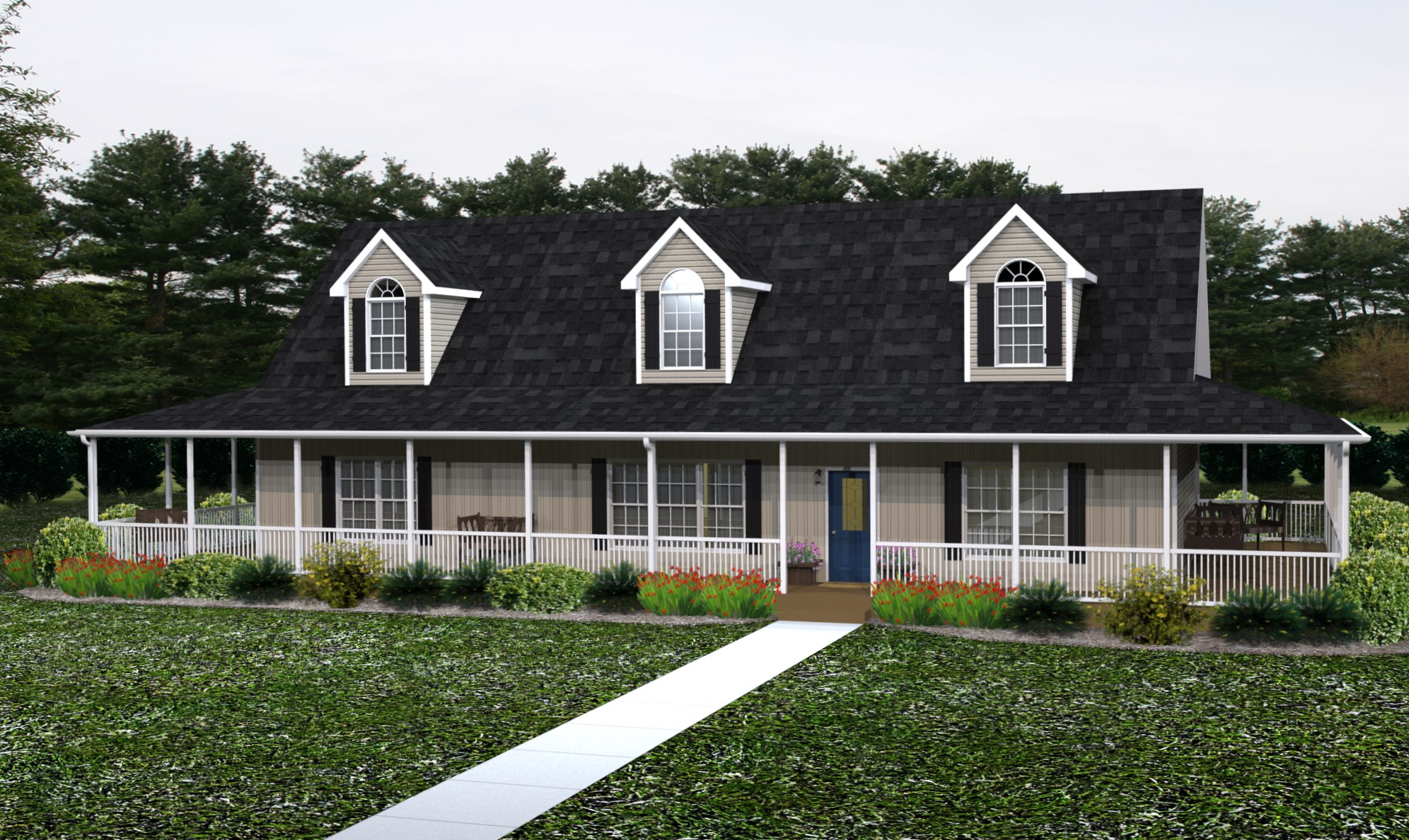 The Rockwell Floor Plan Mocksville Modular Homes